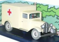 Tintin - Editions Atlas - N� 56 Mint in box Asylum ambulance from  The Pharao\'s cigars