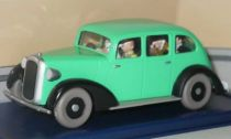 Tintin - Editions Atlas - N° 58 Mint in box Gangster\\\'s green car from The red sea sharks