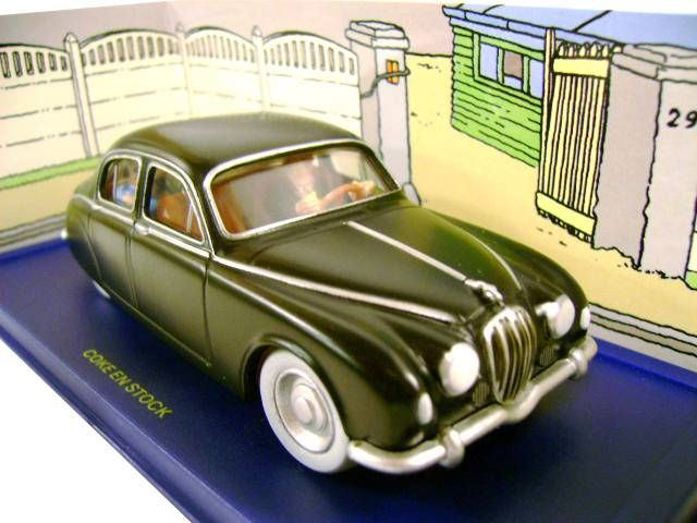 tintin editions atlas n 67 jaguar mark i de tintin coke en stock neuve en boite. Black Bedroom Furniture Sets. Home Design Ideas