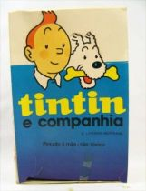 Tintin - Figurine pvc EL Portugal - Boite de présentation de Magasin