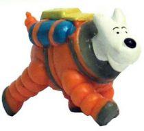 Tintin - Figurine pvc LU (1993) - On a marché sur la lune Milou
