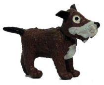 Tintin - Plastic figure Esso France - Gustav the dog