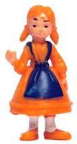 Tintin - Plastic figure Esso France - Nouchka