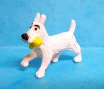 Tintin - Plastic figure Esso France Belvision - Snowy