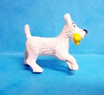 Tintin - Plastic figure Esso France Belvision - Snowy