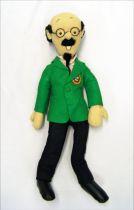 "Tintin - Pr. Calculus 24\"" plush doll - Fruit d\'Or Le Lombard 1985"