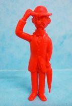 Tintin - Premium monocolor figure Esso Belgium - Calculus (red)