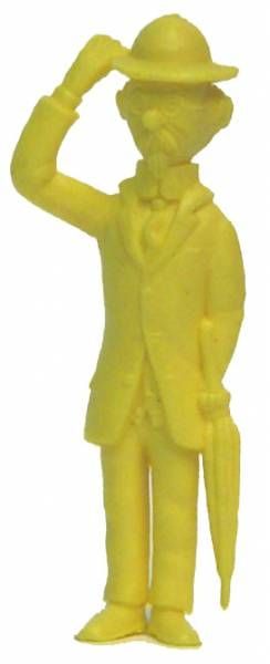 Tintin - Premium monocolor figure Esso Belgium - Calculus (yellow)