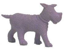 Tintin - Premium monocolor figure Esso Belgium - Gustav the dog (purple)