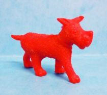Tintin - Premium monocolor figure Esso Belgium - Gustav the dog (red)