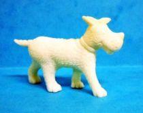Tintin - Premium monocolor figure Esso Belgium - Gustav the dog (white)