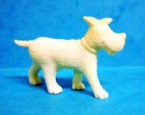 Tintin - Premium monocolor figure Esso Belgium - Gustav the dog (white)