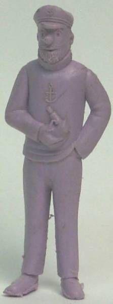 Tintin - Premium monocolor figure Esso Belgium - Haddock (purple)