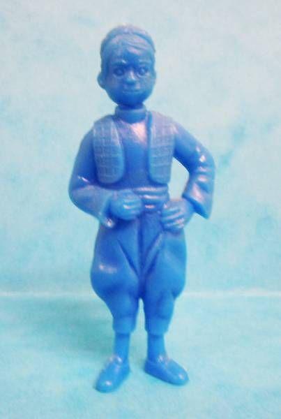 Tintin - Premium monocolor figure Esso Belgium - Miko (blue)