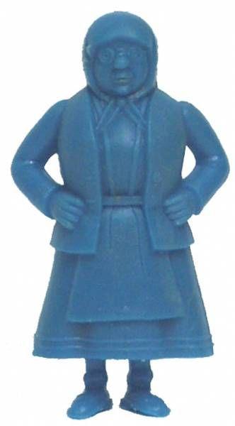 Tintin - Premium monocolor figure Esso Belgium - Miss Vleck (blue)