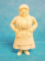 Tintin - Premium monocolor figure Esso Belgium - Miss Vleck (white)