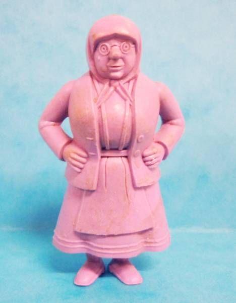Tintin - Premium monocolor figure Esso Belgium - Mme Vleck (purple)