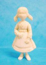 Tintin - Premium monocolor figure Esso Belgium - Nouchka (white)