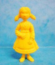 Tintin - Premium monocolor figure Esso Belgium - Nouchka (yellow)