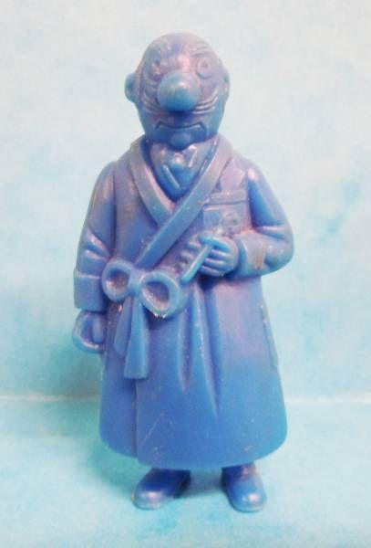Tintin - Premium monocolor figure Esso Belgium - Rastapopoulos (blue)