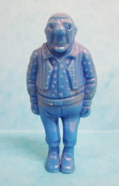 Tintin - Premium monocolor figure Esso Belgium - Rastapopoulos\\\' Large Henchman (blue)