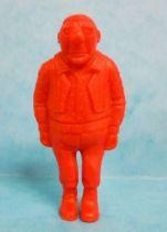 Tintin - Premium monocolor figure Esso Belgium - Rastapopoulos\\\' Large Henchman (red)