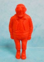 Tintin - Premium monocolor figure Esso Belgium - Rastapopoulos\\\' Large Henchman (red)