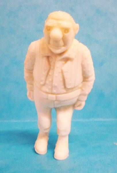 Tintin - Premium monocolor figure Esso Belgium - Rastapopoulos\\\' Large Henchman (white)