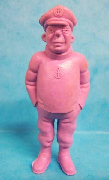 Tintin - Premium monocolor figure Esso Belgium - Rastapopoulos\' Lieutenant (purple)