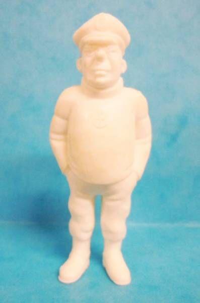 Tintin - Premium monocolor figure Esso Belgium - Rastapopoulos\' Lieutenant (white)