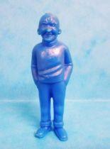 Tintin - Premium monocolor figure Esso Belgium - Rastapopoulos\\\' Small Henchman (blue)