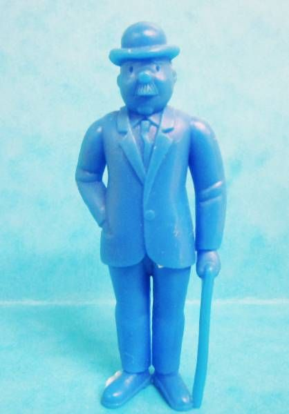 Tintin - Premium monocolor figure Esso Belgium - Thomson stick in left hand (blue)
