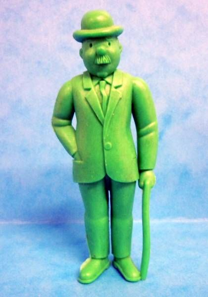 Tintin - Premium monocolor figure Esso Belgium - Thomson stick in left hand (green)
