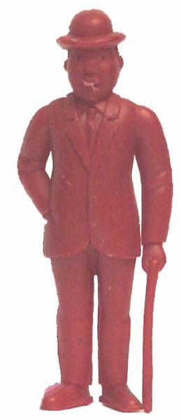 Tintin - Premium monocolor figure Esso Belgium - Thomson stick in left hand (red)
