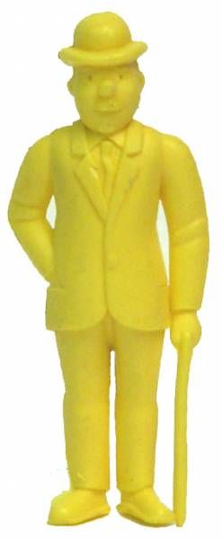 Tintin - Premium monocolor figure Esso Belgium - Thomson stick in left hand (yellow)