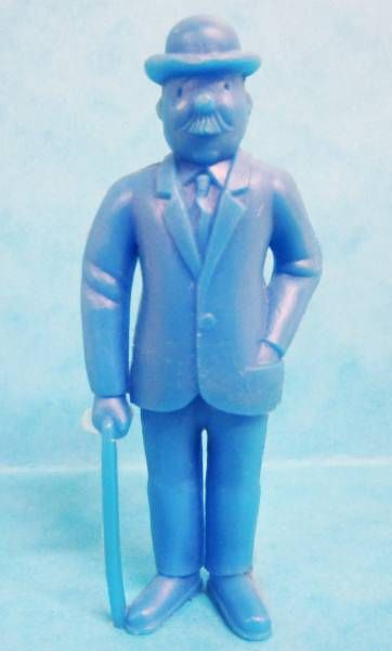 Tintin - Premium monocolor figure Esso Belgium - Thomson stick in right hand (blue)