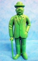 Tintin - Premium monocolor figure Esso Belgium - Thomson stick in right hand (green)