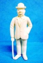 Tintin - Premium monocolor figure Esso Belgium - Thomson stick in right hand (white)