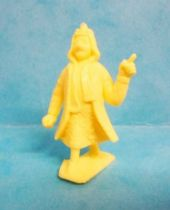 Tintin - Premium monocolor figure Stenval - Emir (clear yellow)