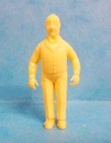 Tintin - Premium monocolor figure Stenval - Nestor (clear yellow)