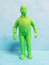 Tintin - Premium monocolor figure Stenval - Nestor (green)