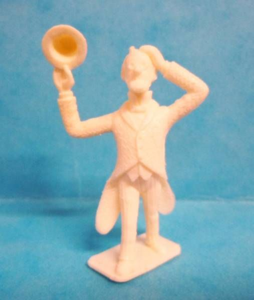 Tintin - Premium monocolor figure Stenval - Philemon Siclone (white)