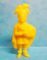 Tintin - Premium monocolor figure Stenval - Rackam the Red (yellow)