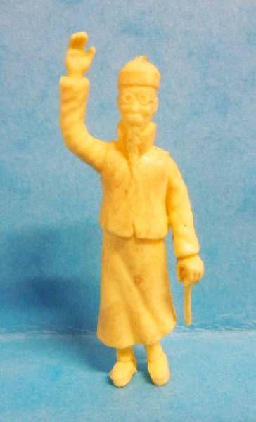 Tintin - Premium monocolor figure Stenval - Wang Jen-Ghié (clear yellow)