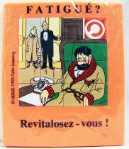 Tintin - Promotional Fifteen Puzzle (Riddle) - Revitalosez-Vous! (1993)