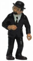 Tintin - Pvc figure Bully (1975) - Thomson stick in left hand (missing)