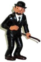 Tintin - Pvc figure Bully (1975) - Thomson stick in left hand