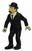 Tintin - Pvc figure Bully (1975) - Thomson stick in right hand (missing)