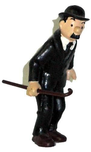 Tintin - Pvc figure Bully (1975) - Thomson stick in right hand