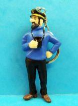 Tintin - Figurine pvc Plastoy - Haddock aux jumelles (Porte-clés) 01